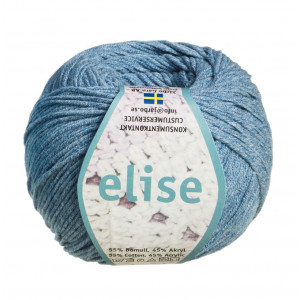 Järbo Elise Garn Unicolor 69216 Jeansblå