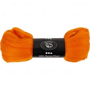 Merinoull, 21 my, 100 g, orange
