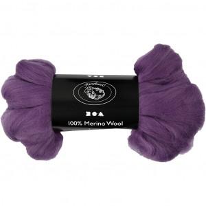 Merinoull, 21 my, 100 g, violett