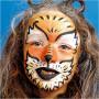 Eulenspiegel Ansiktsfärg - sminkset, 1 set, mixade färger