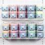 Foam Clay®, 10x10 hinkar, mixade färger