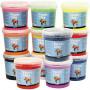 Foam Clay®, 12x560 g, mixade färger