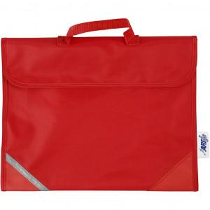 Køb Skolväska, stl. 36×29 cm, djup 9 cm, 1 st., röd