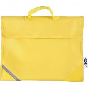Køb Skolväska, stl. 36×29 cm, djup 9 cm, 1 st., gul