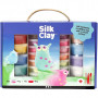 Silk Clay® presentask, 1 set, mixade färger