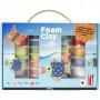 Foam Clay® gaveæske, ass. farver, 1sæt