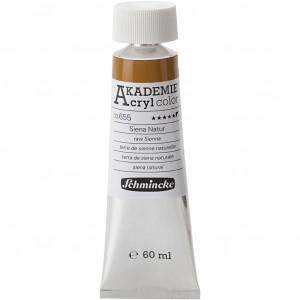Køb Schmincke AKADEMIE® Acryl color, semi-opaque, 60 ml, raw sienna (655)