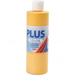 Plus Color hobbyfärg, 250 ml, yellow sun