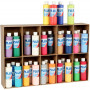 Plus Color hobbyfärg, 30x250 ml, mixade färger
