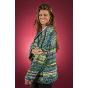Mayflower Easy Knit Vamset Cardigan - Jacka Stickmönster str. S - XXXXL