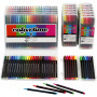 Colortime Fineliner Tusch, spets: 0,6-0,7 mm, 18 förp., mixade färger