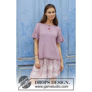 Sweet Susanby DROPS Design - Topp Stickmönster str. S-XXXL