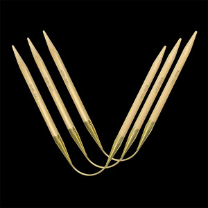 Addi Crasy Trio Long Bamboo 30cm 5,00mm - 3 stk & 249.00