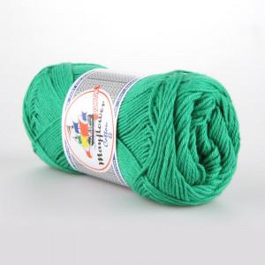 Mayflower Cotton 8/4 Junior Garn Unicolor 1427 Grön