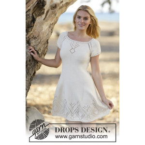 Summer Feeling by DROPS Design - Klänning Stick-opskrift strl. S - XXXL