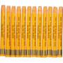 Gallery Akvarell, tjocklek 8 mm, L: 9,3 cm, 12 st., gul orange (308)