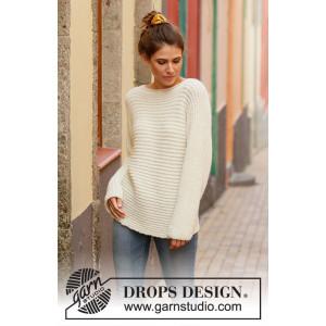 Daily Wonder by DROPS Design - Blus Stickmönster str. S - XXXL