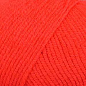 Infinity Hearts Baby Merino Garn Unicolor 21 Röd