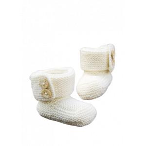 Järbo Babystövlar - Baby Tofflor Stick-mönster strl. Prematur - 1/2 år