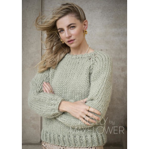 Ruthsweateren Molly By Mayflower - Sweater stickmönster str. S -XL