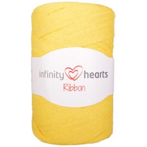 Infinity Hearts Ribbon Trikågarn 27 Gul