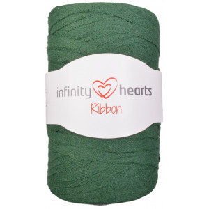 Infinity Hearts Ribbon Trikågarn 14 Buteljgrön