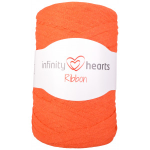 Infinity Hearts Ribbon Stofgarn 26 Orange
