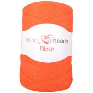 Infinity Hearts Ribbon Trikågarn 26 Orange