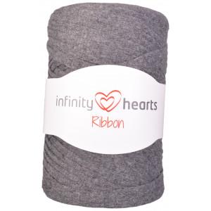 Infinity Hearts Ribbon Trikågarn 06 Mörkgrå