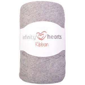 Infinity Hearts Ribbon Trikågarn 05 Grå