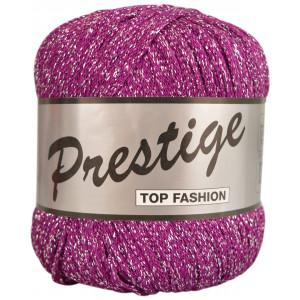 Lammy Prestige Lurex Garn 064 Mörk Rosa