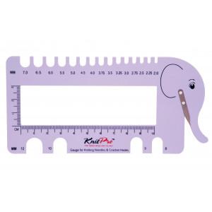 Køb KnitPro VirknÃ¥lsmätare & Stickmätare Elefant Lila