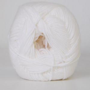 Køb Hjertegarn Lana Cotton 212 Garn Färg 1090 Vit