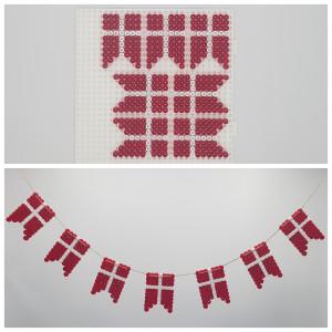 Flaggor av Rito Krea - Prälmönster med dansk flagga