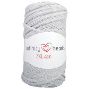 Infinity Hearts 2XLace Garn 04 Ljusgrå