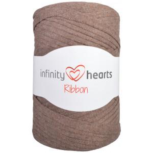 Infinity Hearts Ribbon Stofgarn 09 Brun
