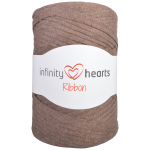 Infinity Hearts Ribbon Trikågarn 09 Brun