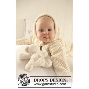 Sleeping Beauty by DROPS Design - Baby Åkpåse Stick-mönster strl. 1/3 mdr - 3/4 år
