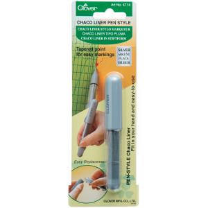 Køb Clover Chaco Liner Pen Silver