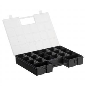 Køb Hobbybox/Plastbox Deluxe för pärlor/knappar 8-20 lÃ¥dor Svart 35,5×25,5