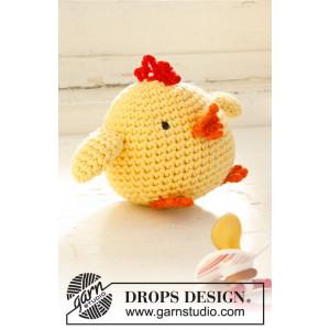 Chicken Little by DROPS Design - Påskkyckling Virk-mönster 12 cm