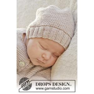 In my dreams by DROPS Design - Baby Mössa Stick-opskrift strl. Prematur - 3/4 år