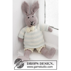 Mr. Bunny by DROPS Design - Baby Nalle Stickmönster