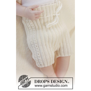 Simply Sweet Shorts by DROPS Design - Baby shorts Stick-mönster strl. Prematur - 3/4 år