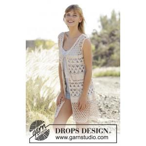 Summer Bliss Vest by DROPS Design - Väst Virk-opskrift strl. S - XXXL