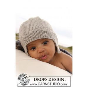 Samuel Mössa by DROPS Design - Baby Mössa Stick-mönster strl. 1/3 mdr - 3/4 år