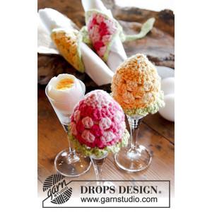 Easter Morning by DROPS Design - Æggevarmer og Servietbånd Hækleopskrift