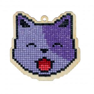 Wizardi Diamond Painting Paket Katt Lucky 8,9x8,9cm & 109.00
