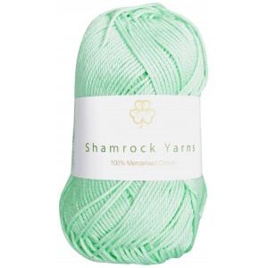 Shamrock Yarns Merciserad Bomull 140 Mintgrön
