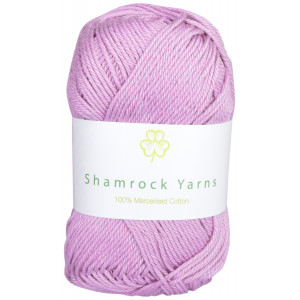 Shamrock Yarns Merciserad Bomull 52 Syrén